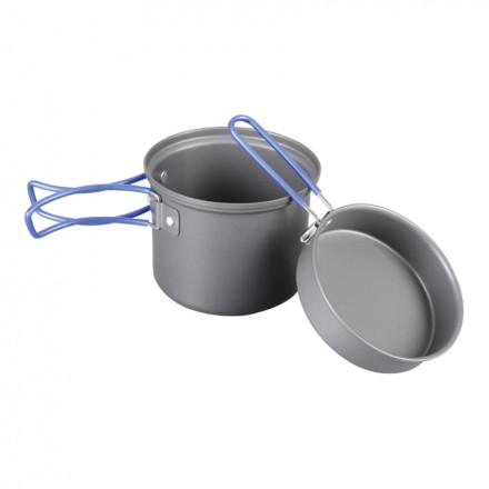 Котелок 1000 мл с крышкой-сковородой Tramp TRC-039