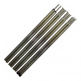 Комплект стальных стоек для палатки, шатра или тента (16х2300 мм, 2 шт.)
