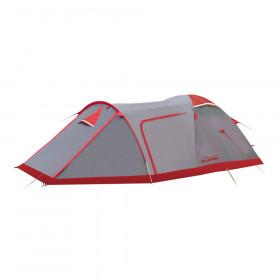 Палатка экспедиционная Tramp Cave 3 (V2) (серая)