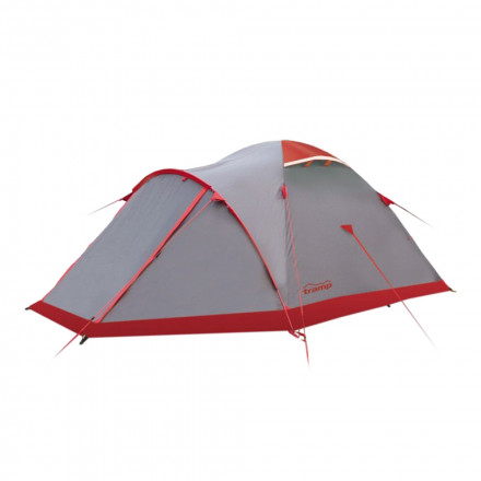 Палатка экспедиционная Tramp Mountain 3 (V2) (серая)
