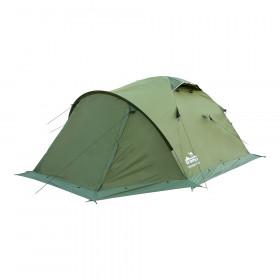 Палатка экспедиционная Tramp Mountain 2 (V2) (зеленая)