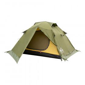Палатка экспедиционная Tramp Peak 3 (V2) (зеленая)