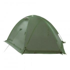 Палатка экспедиционная Tramp Rock 2 (V2) (зеленая)
