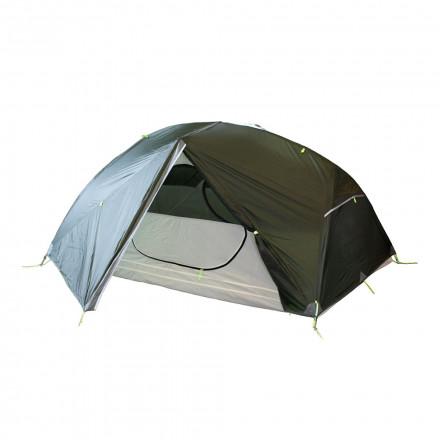 Палатка ультралегкая Tramp Cloud 3 Si (зеленая)